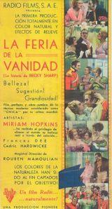 1935 Becky Sharp - La feria de la vanidad (esp) 01