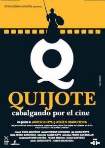 Quijote cabalgando por el cine